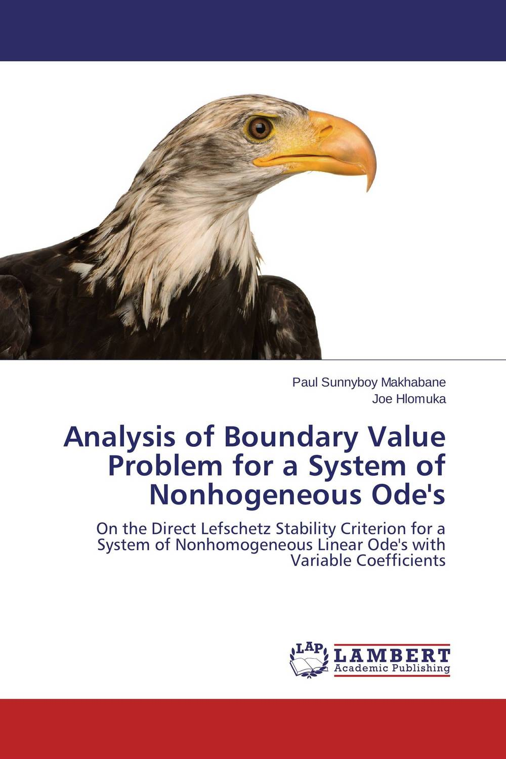 Analysis of Boundary Value Problem for a System of Nonhogeneous Ode's honey value chain analysis