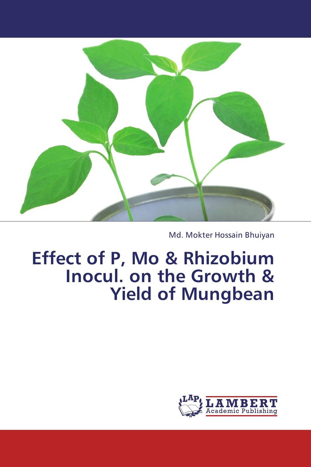 Effect of P, Mo & Rhizobium Inocul. on the Growth & Yield of Mungbean effect of nitrogen and pgr s on growth and productivity of black gram