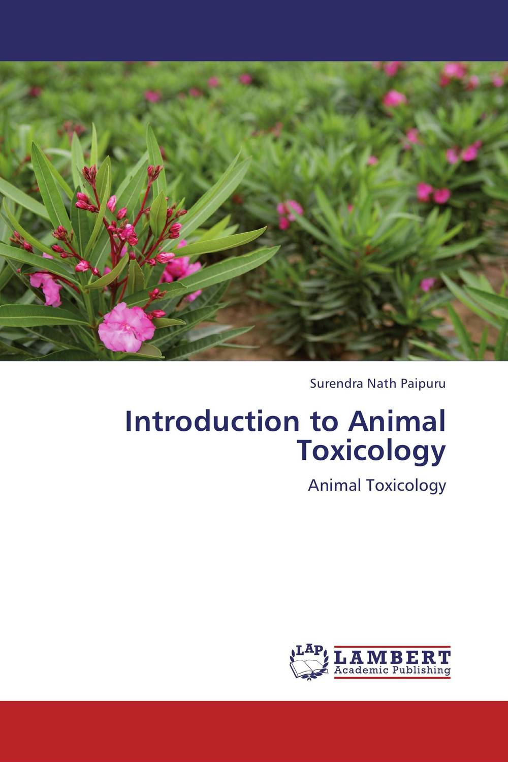 Introduction to Animal Toxicology the venom of luxur