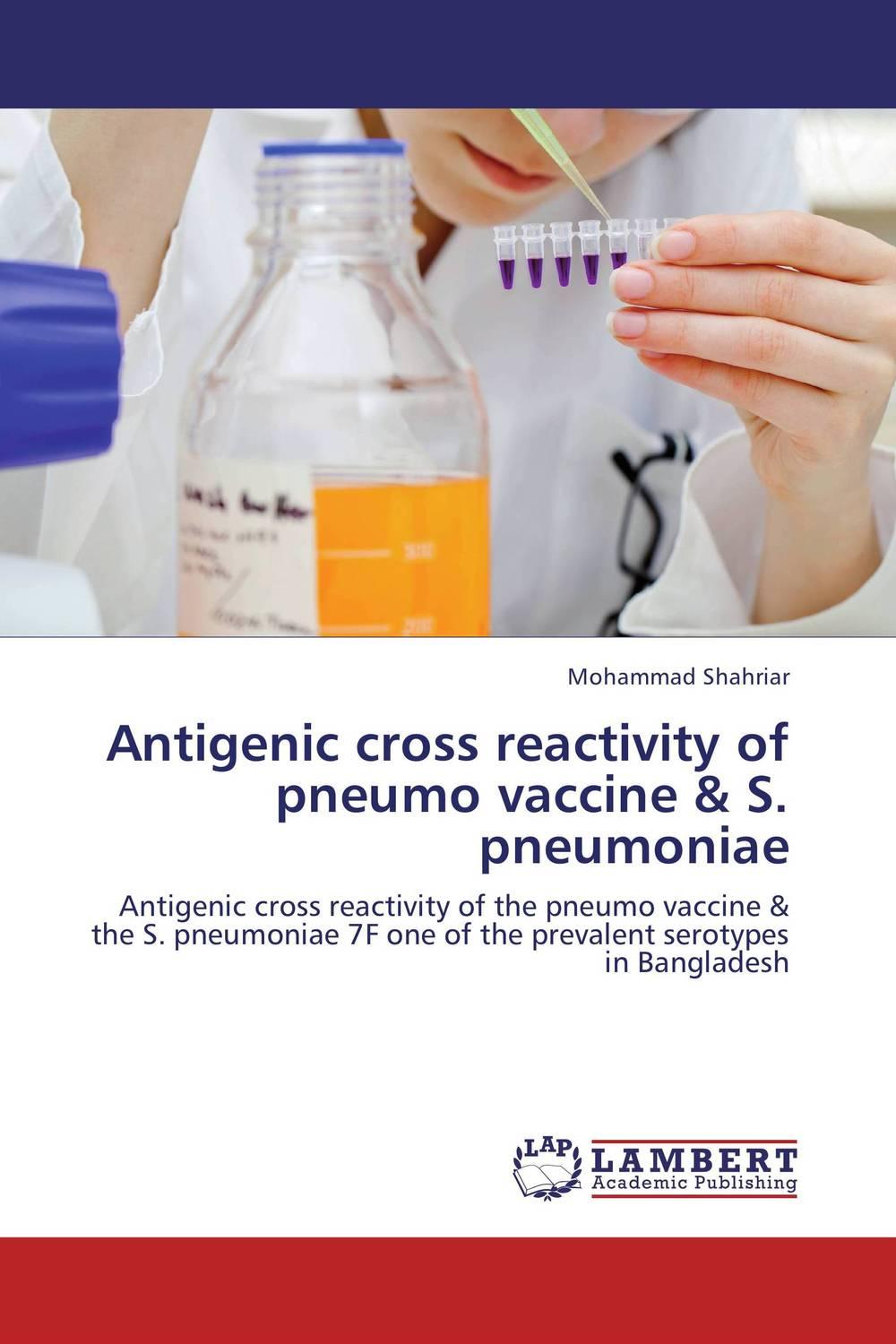 Antigenic cross reactivity of pneumo vaccine & S. pneumoniae