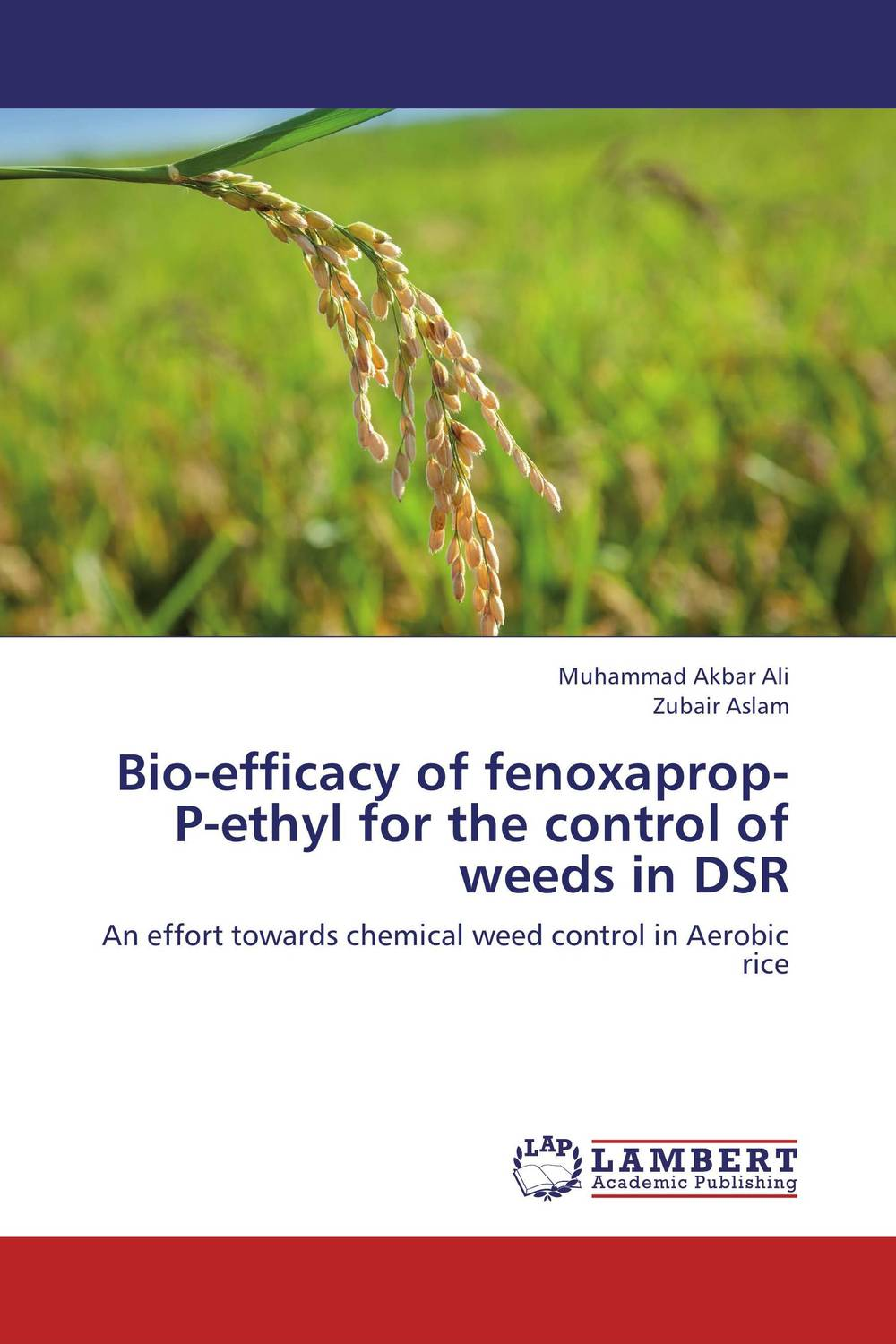 Bio-efficacy of fenoxaprop-P-ethyl for the control of weeds in DSR ajit kumar paswan and rakesh kumar efficacy of separate and premix formulation of herbicides on weeds