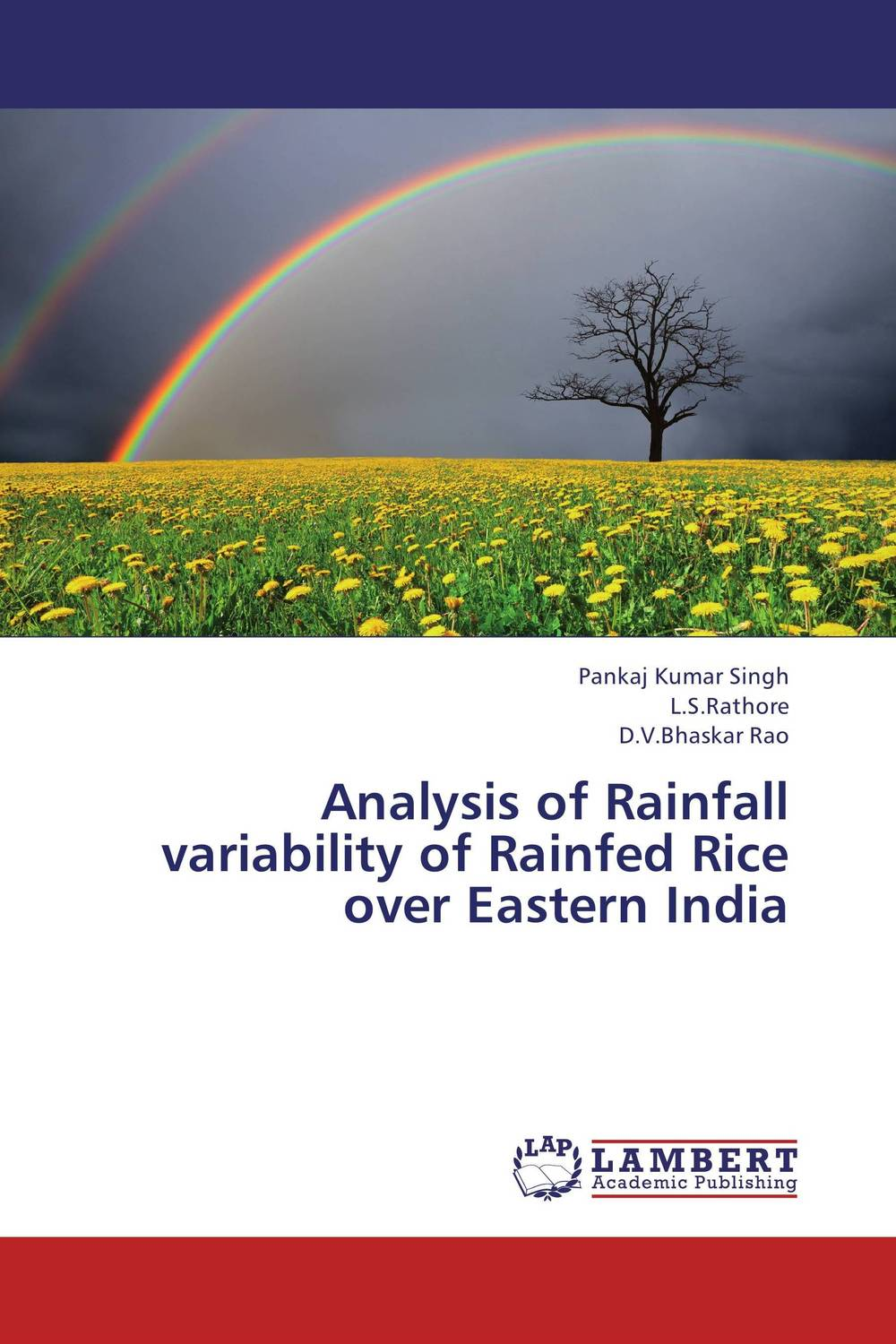 Analysis of Rainfall variability of Rainfed Rice over Eastern India productivity of rice