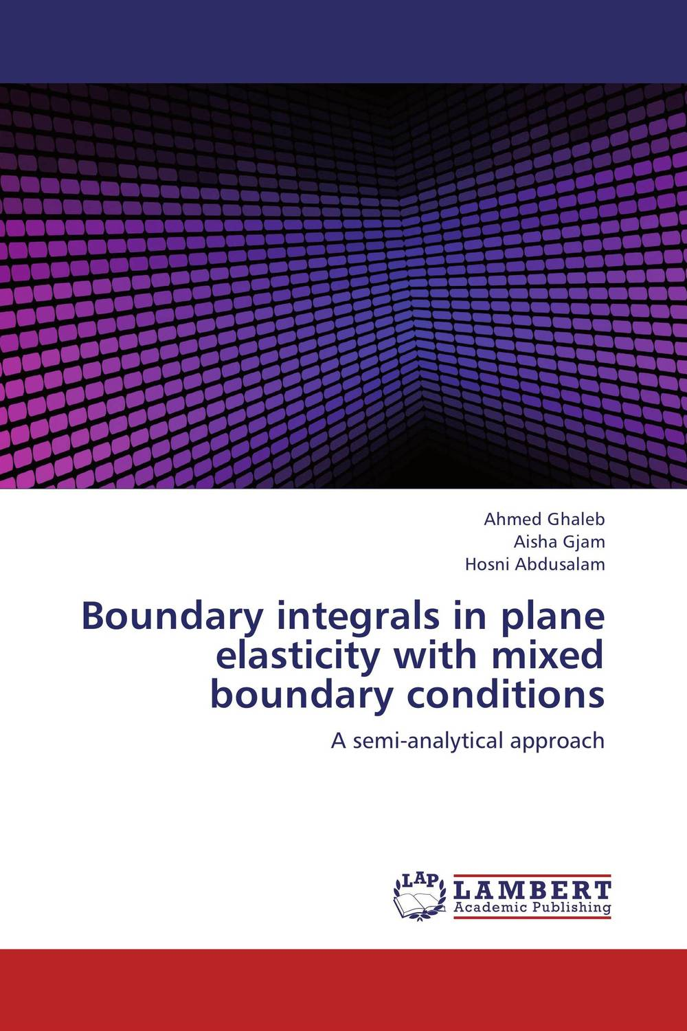 Boundary integrals in plane elasticity with mixed boundary conditions arindam ghosh hazra studies on boundary conditions and noncommutativity in string theory