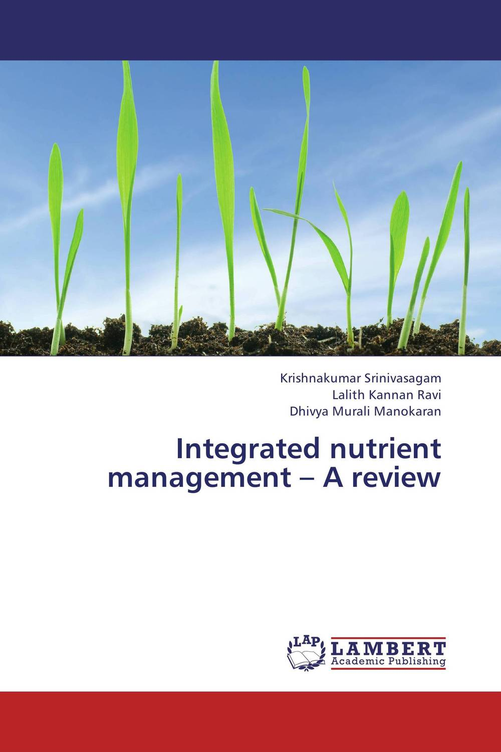 Integrated nutrient management – A review sarah cheroben and cheroben integrated soil fertility management and marketing of farm produce
