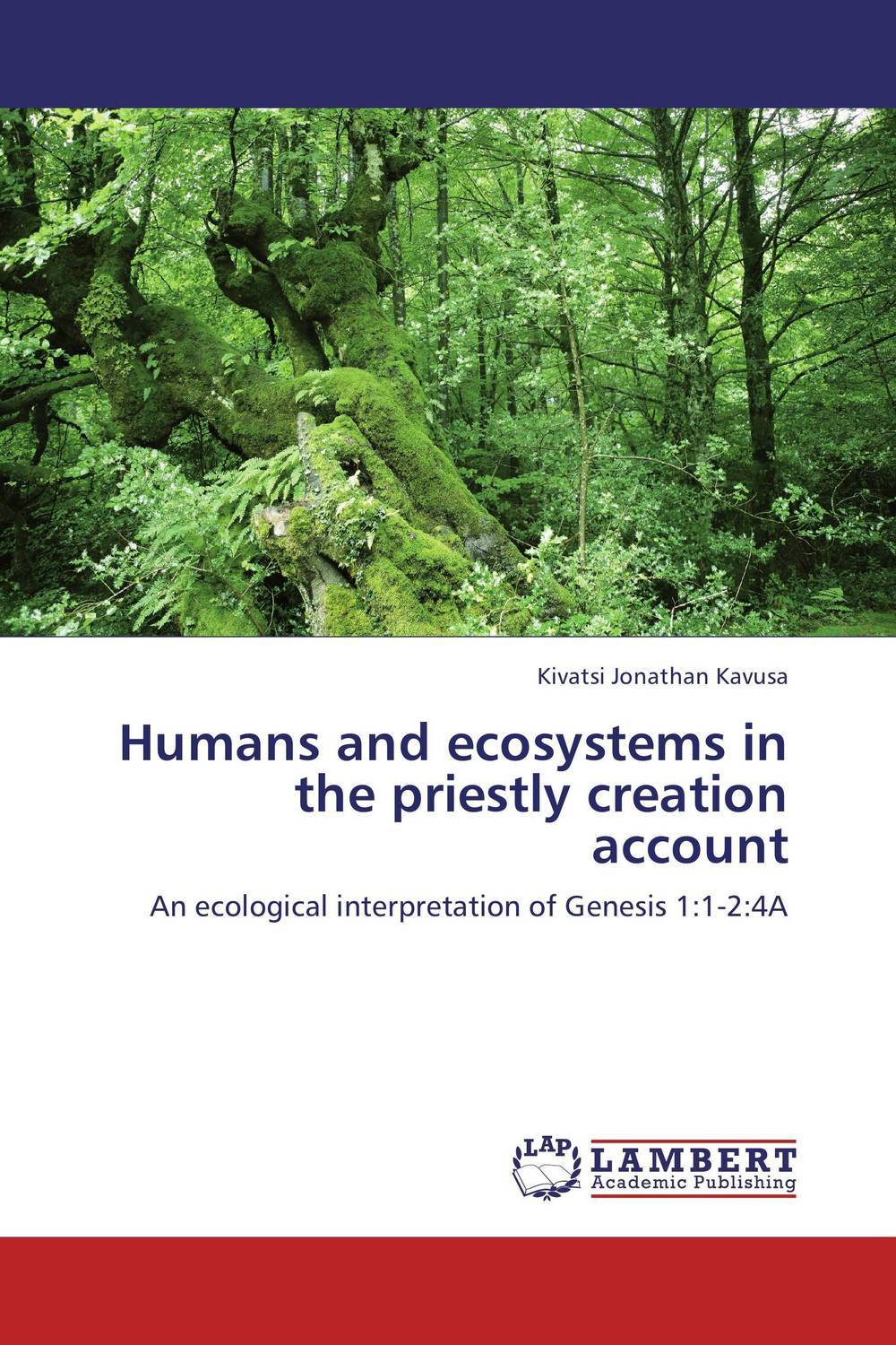 Humans and ecosystems in the priestly creation account genesis genesis turn it on again the hits