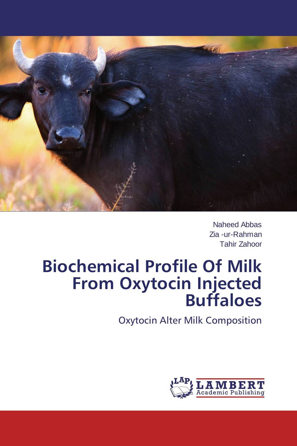 Biochemical Profile Of Milk From Oxytocin Injected Buffaloes prava mayengbam haematological and blood biochemical profile of frieswal cattle