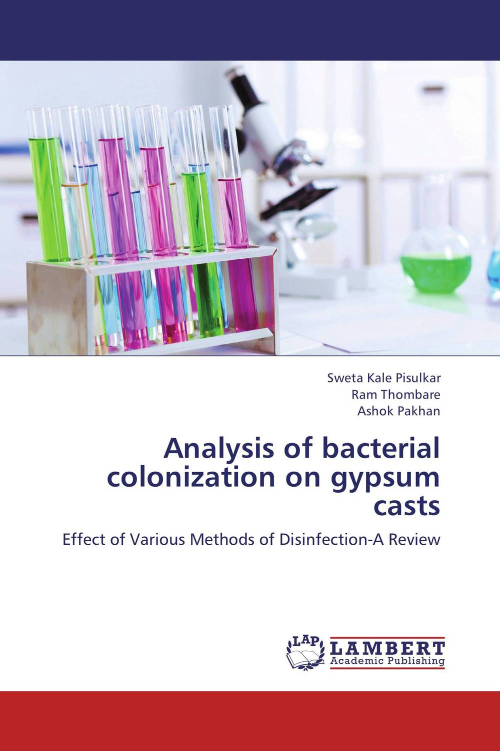 Analysis of bacterial colonization on gypsum casts
