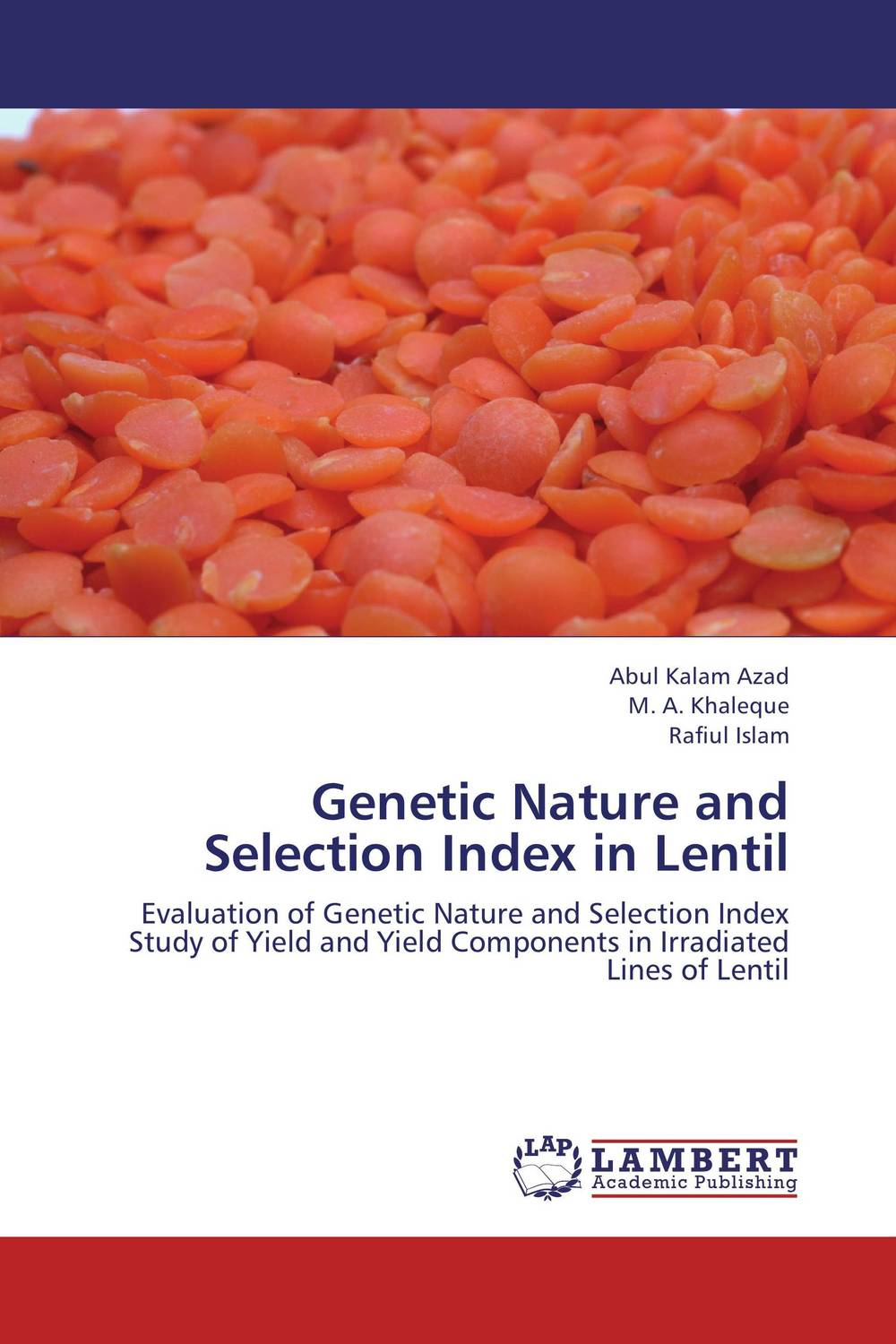 Genetic Nature and Selection Index in Lentil rainford rbн 7604 bm1 black
