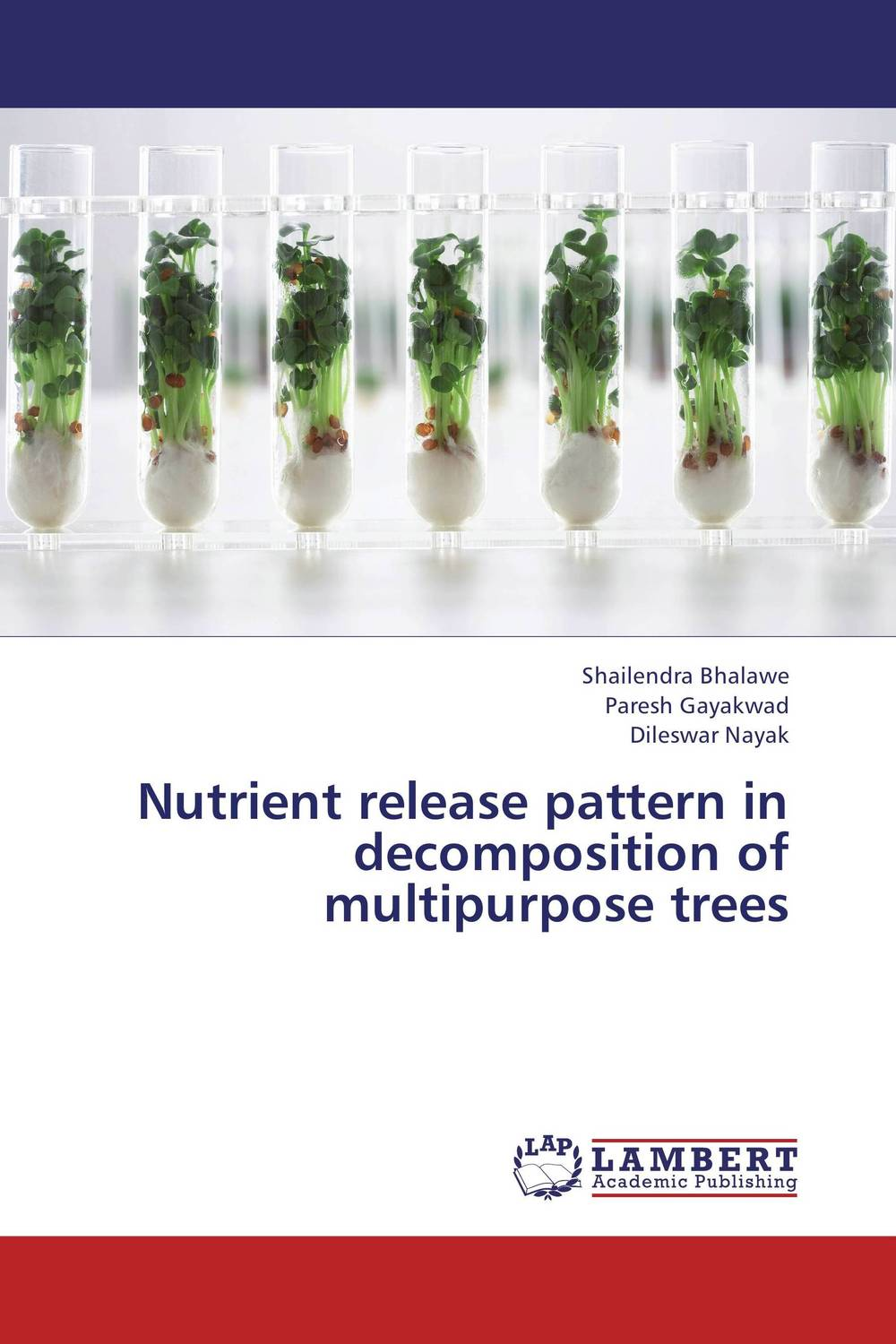 Nutrient release pattern in decomposition of multipurpose trees coloring of trees