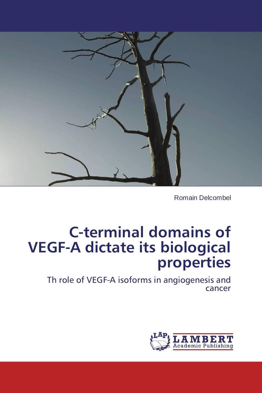 цена на C-terminal domains of VEGF-A dictate its biological properties