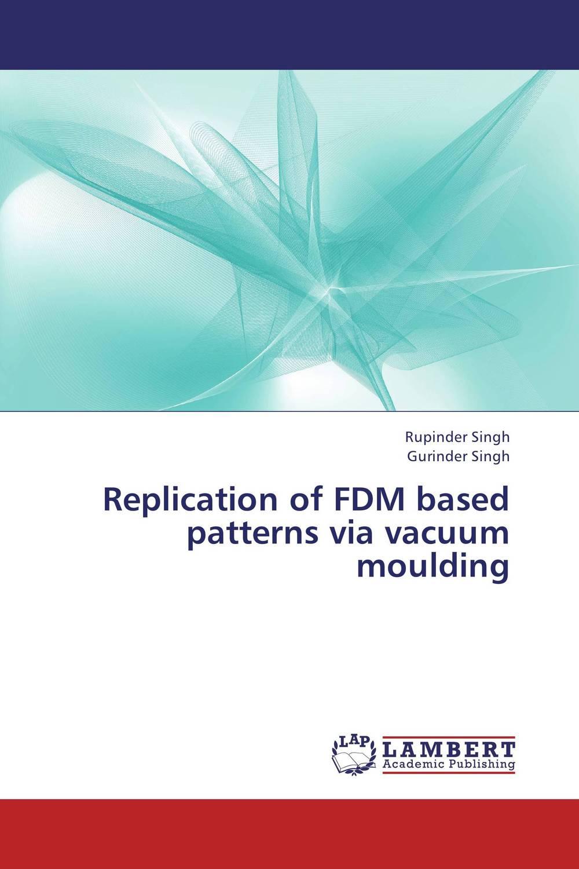 Replication of FDM based patterns via vacuum moulding dcs 7010l цена
