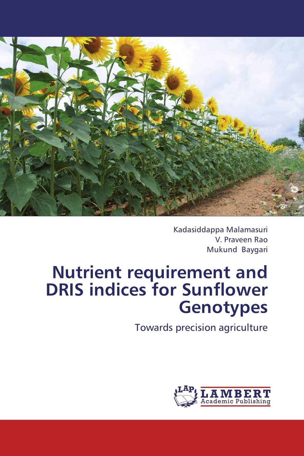 Nutrient requirement and DRIS indices for Sunflower Genotypes