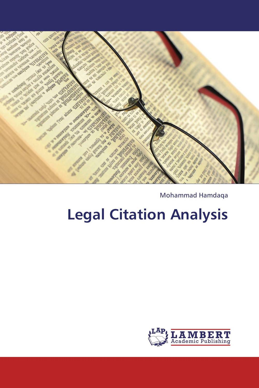 Legal Citation Analysis