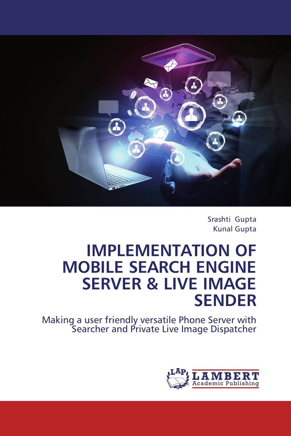 Implementation of mobile search engine server & live image sender magnum live in concert