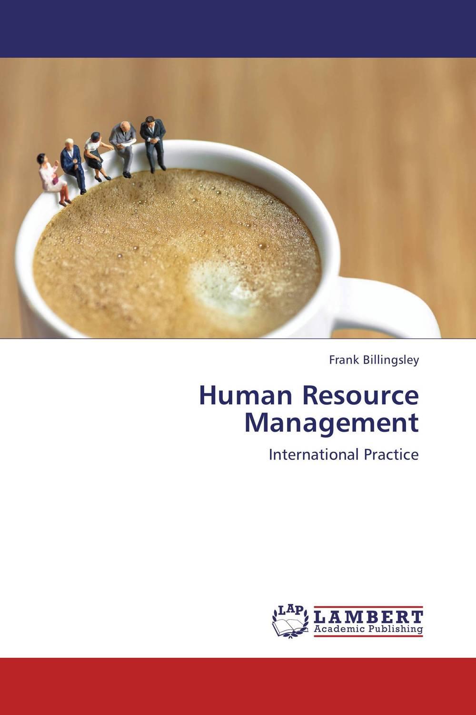 Human Resource Management organization development