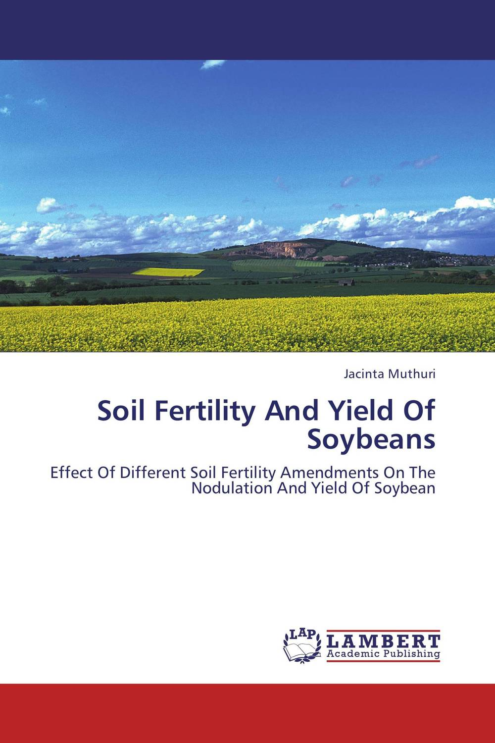 Soil Fertility And Yield Of Soybeans sarah cheroben and cheroben integrated soil fertility management and marketing of farm produce