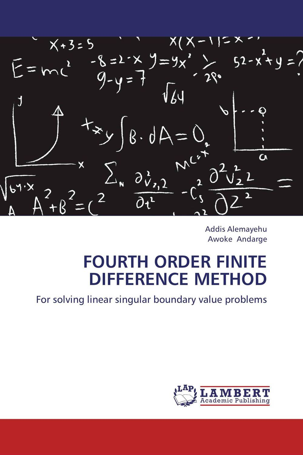 Fourth order finite difference method