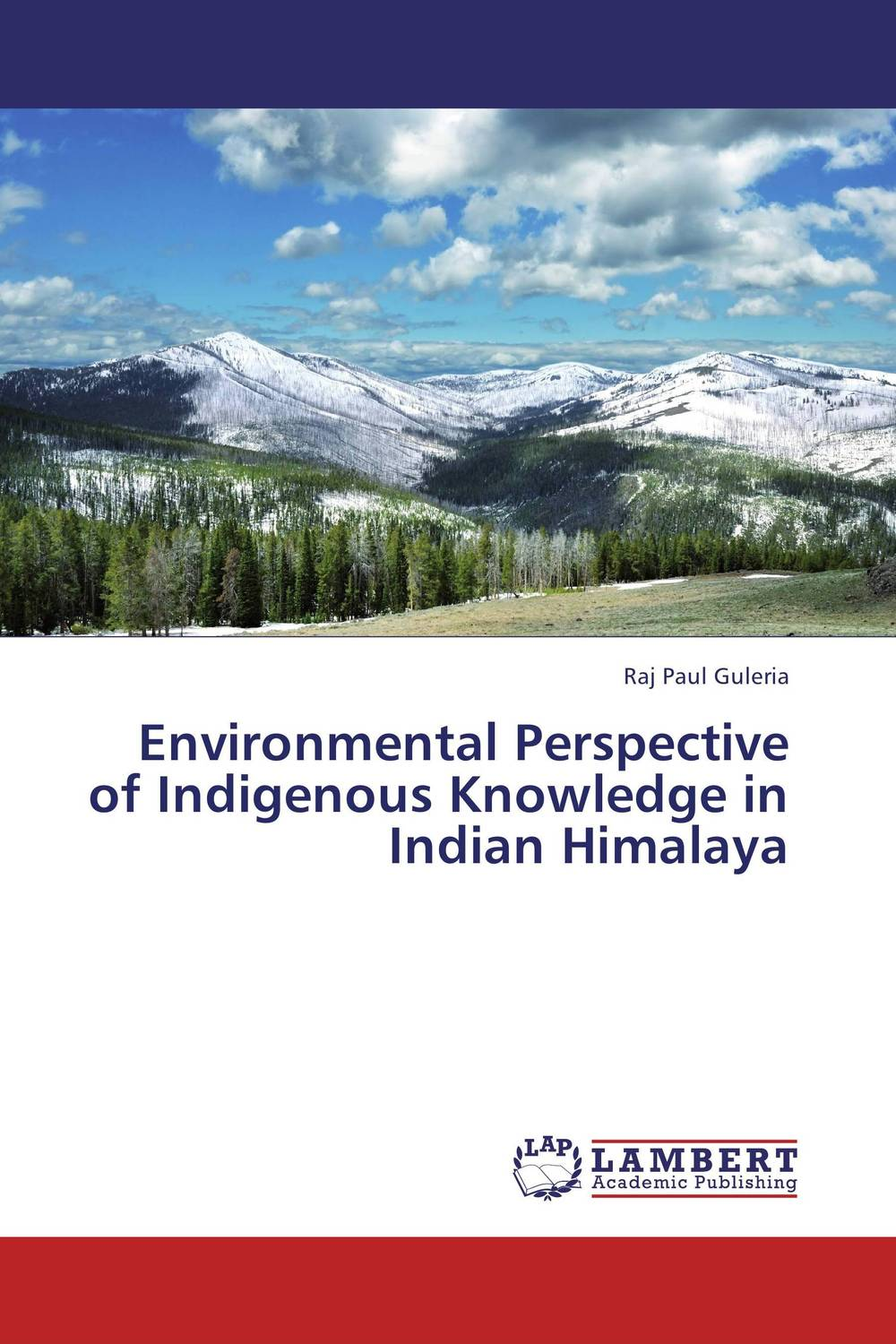 Environmental Perspective of Indigenous Knowledge in Indian Himalaya indian himalaya 1 350 000