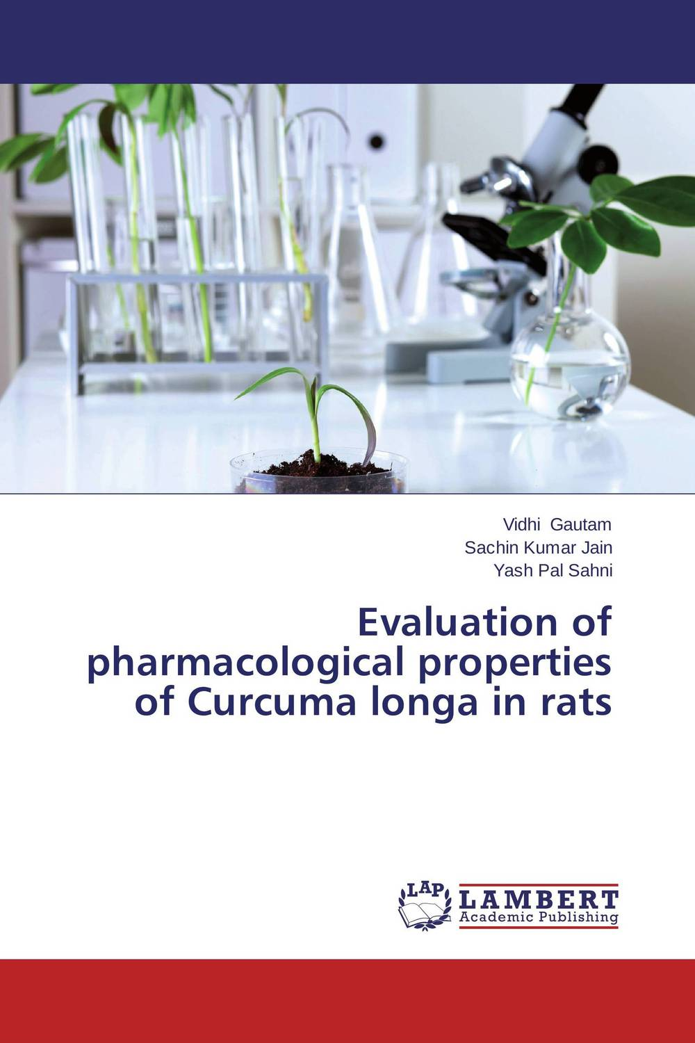 Evaluation of pharmacological properties of Curcuma longa in rats купить