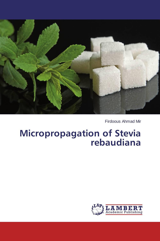 Micropropagation of Stevia rebaudiana micropropagation in stevia stevia rebaudiana bertoni