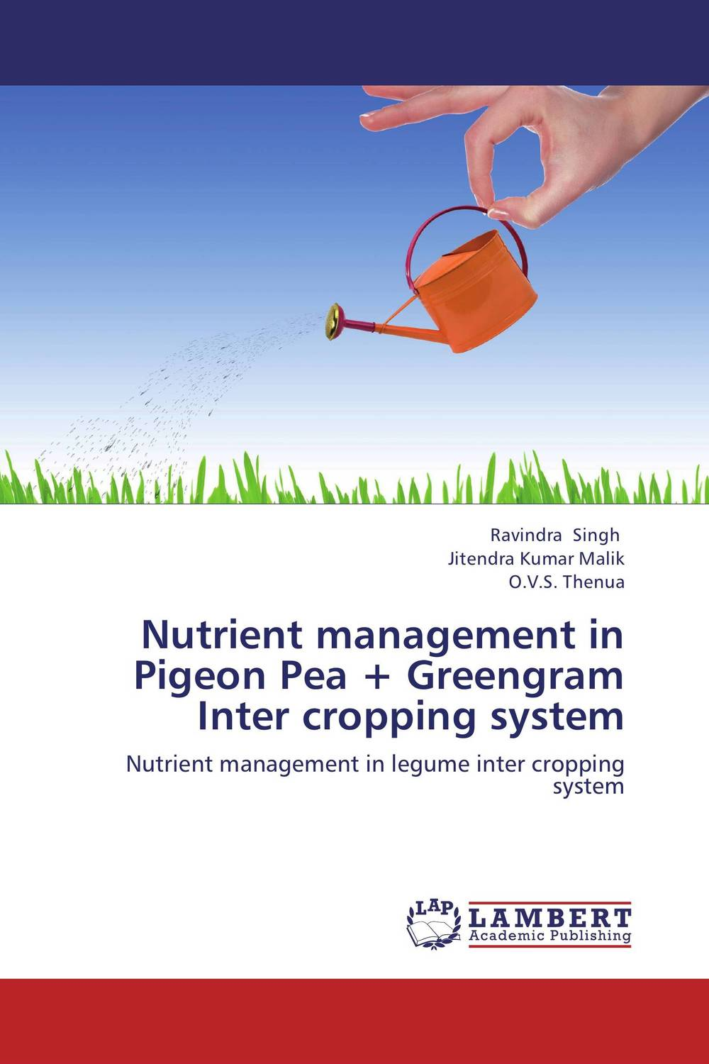Nutrient management in Pigeon Pea + Greengram Inter cropping system site specific nutrient management in rice wheat cropping system