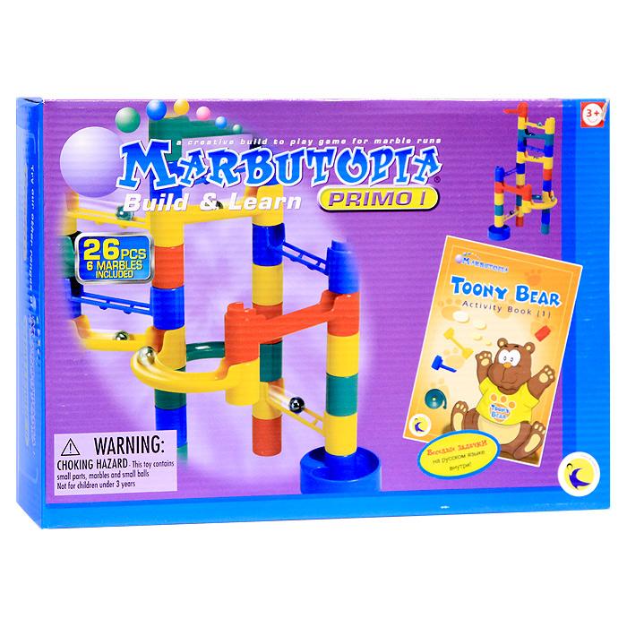 Marbutopia Конструктор Строй и учись конструкторы marbutopia slide maker конструктор