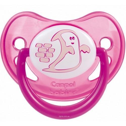Canpol Babies Соска-пустышка от 6 до 18 месяцев цвет розовый canpol babies мисочка с ложкой и крышкой canpol babies розовый