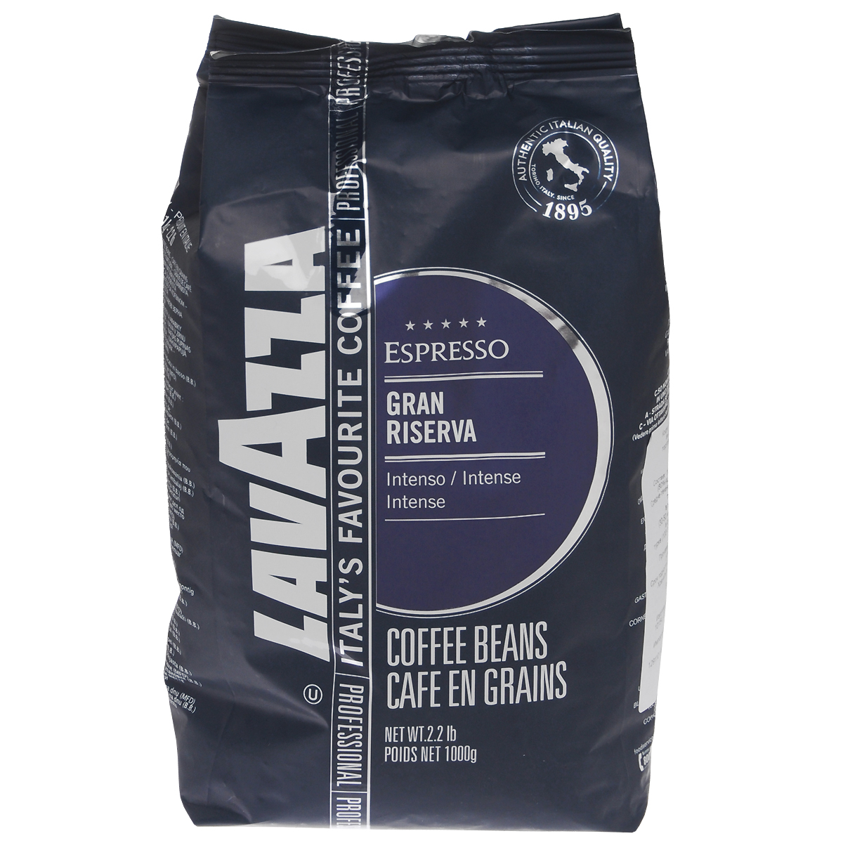 Lavazza Gran Riserva кофе в зернах, 1 кг