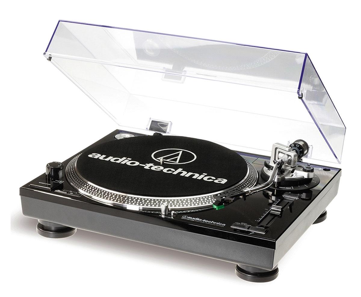 Audio-Technica AT-LP120BK-USBHS10, Black виниловый проигрыватель