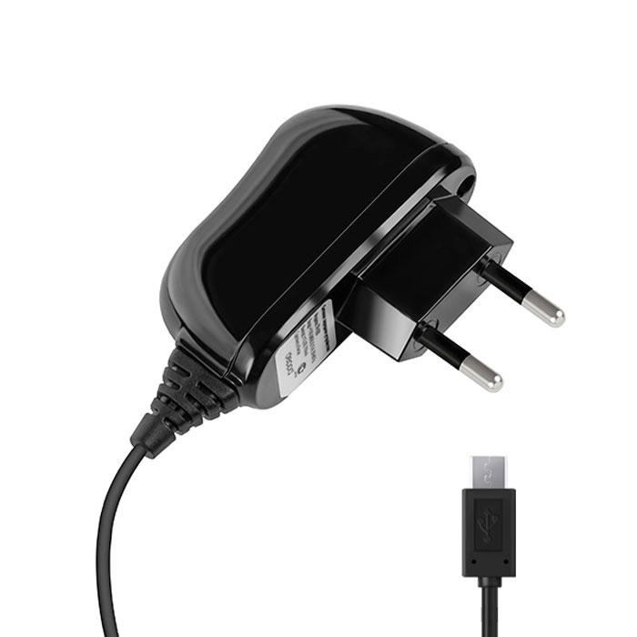 Deppa Classic microUSB 2.1A, Black сетевое ЗУ23141Зарядное устройство Deppa Classic microUSB 2.1A предназначено для заряда батареи мобильных телефонов, смартфонов и других цифровых устройств с разъемом micro-USB от сети 100В/240В.