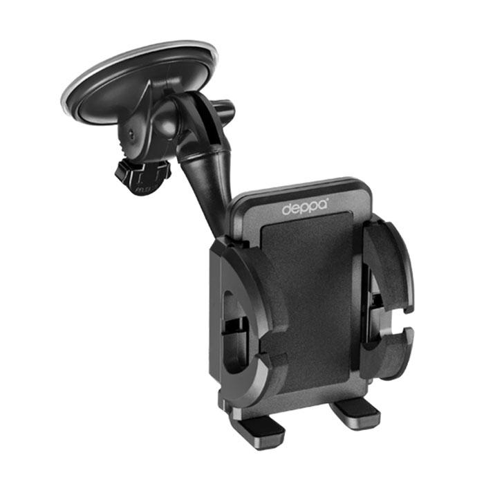 Deppa Crab 3 автомобильный держатель для смартфонов 3.5-6.555103Deppa Crab 3 - автомобильный держатель для крепления вашего устройства в автомобиле на лобовое стекло и вентиляционную решетку. Имеется возможность поворота на 360°.