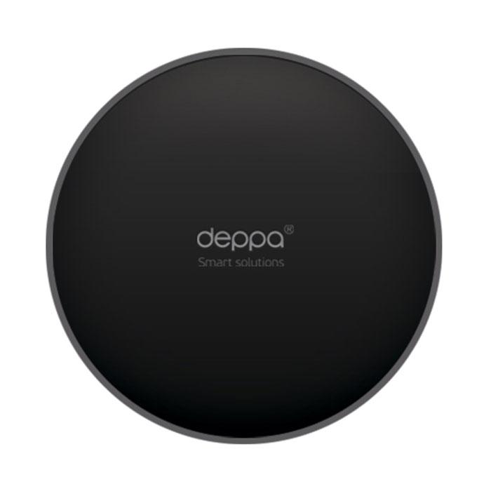 Deppa Crab Disk, Black самоклеющийся диск для установки держателя на панель приборов полироль для приборной панели atas plak amarena 400 мл