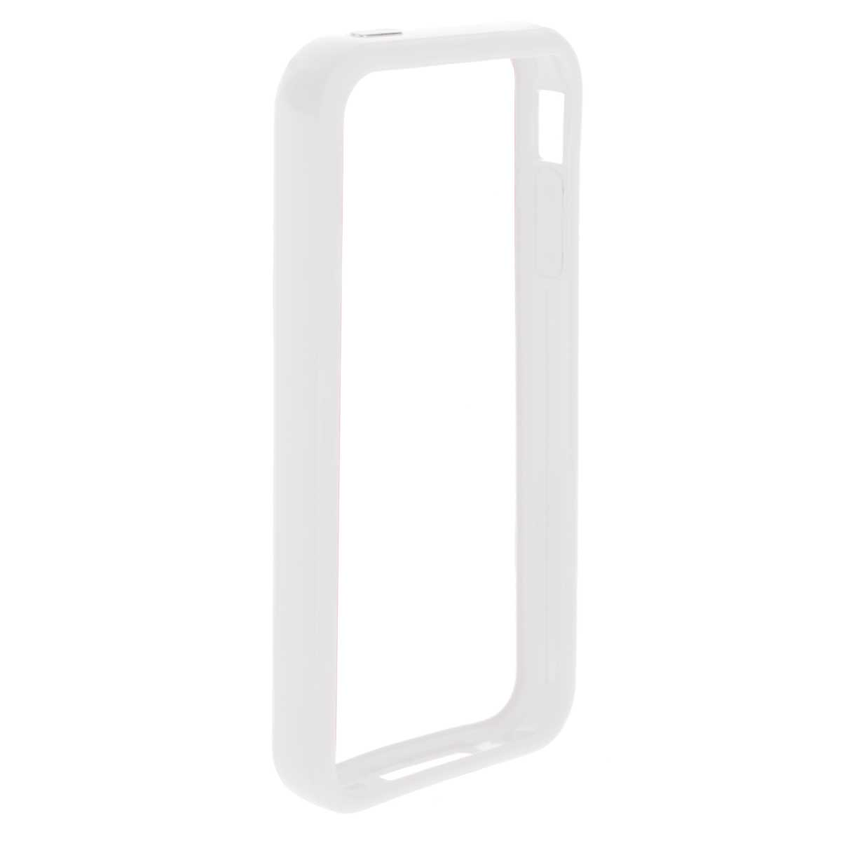 Deppa Bumper чехол-бампер для iPhone 4/4S, White