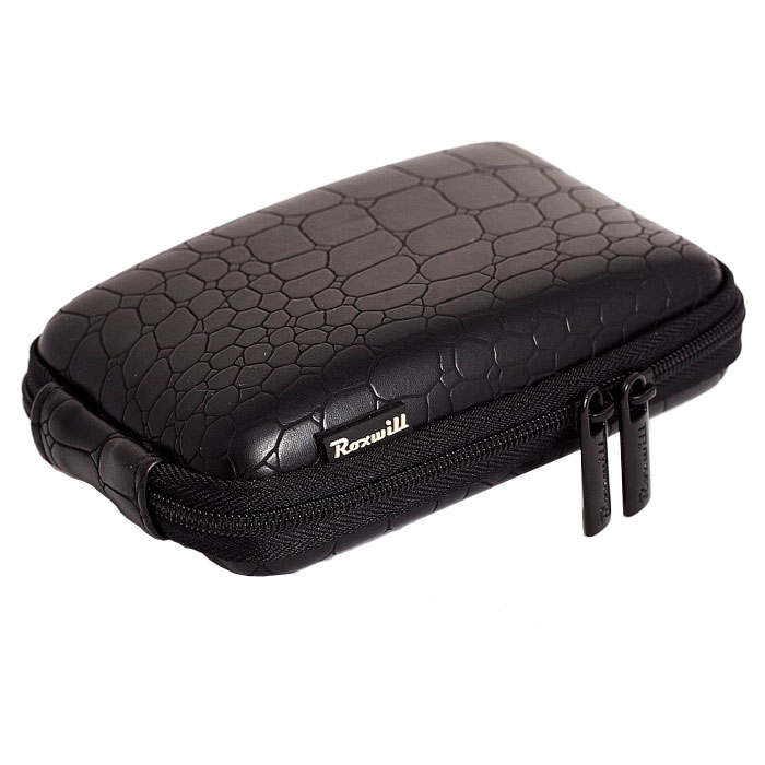 Roxwill C40 Croco, Black чехол для фото- и видеокамер сумка для фотоаппарата roxwill neo10 grey