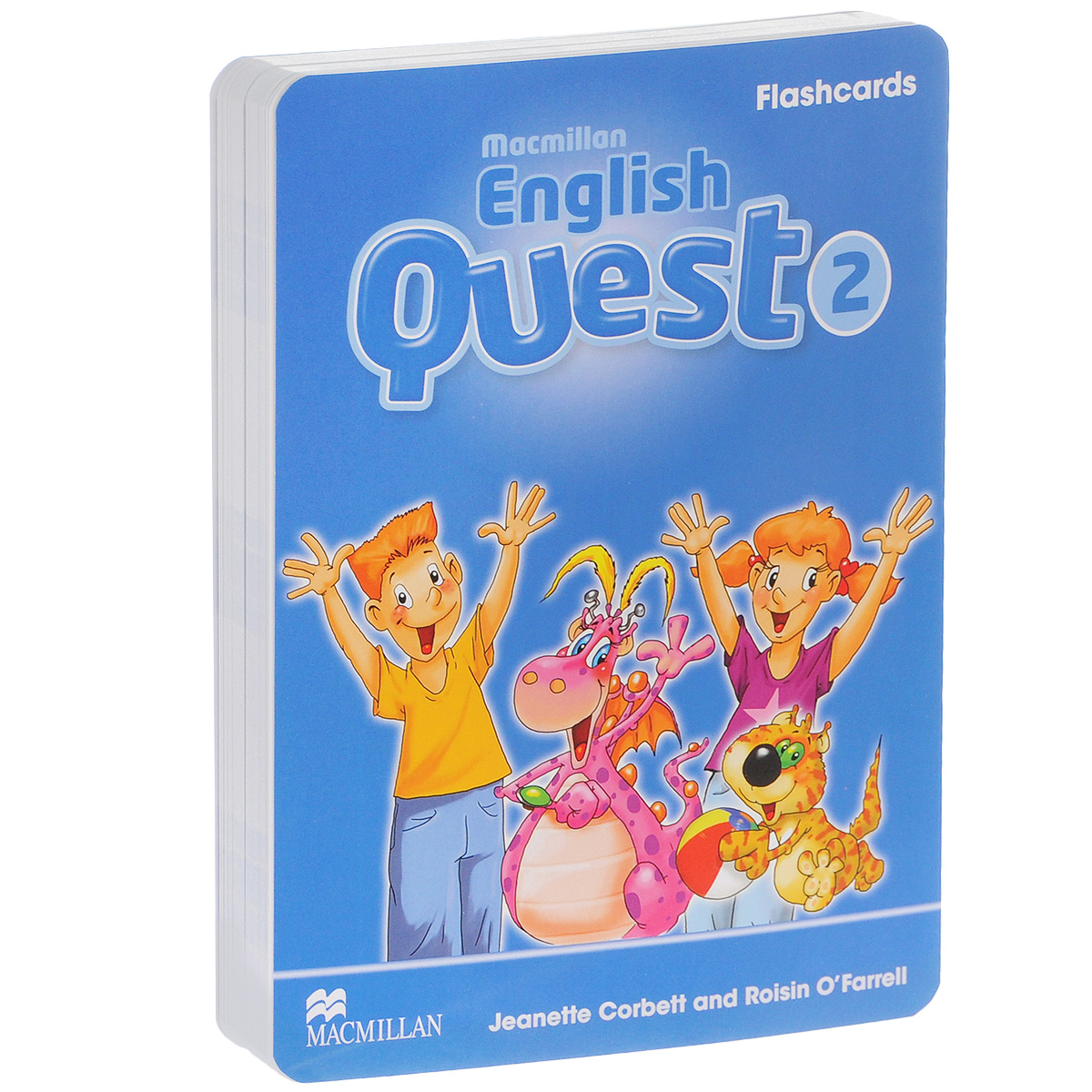 Macmillan English Quest 2: Flashcards цена