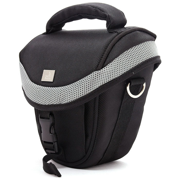 Roxwill M10, Black/Silver чехол для фото- и видеокамер сумка для фотоаппарата roxwill neo10 grey