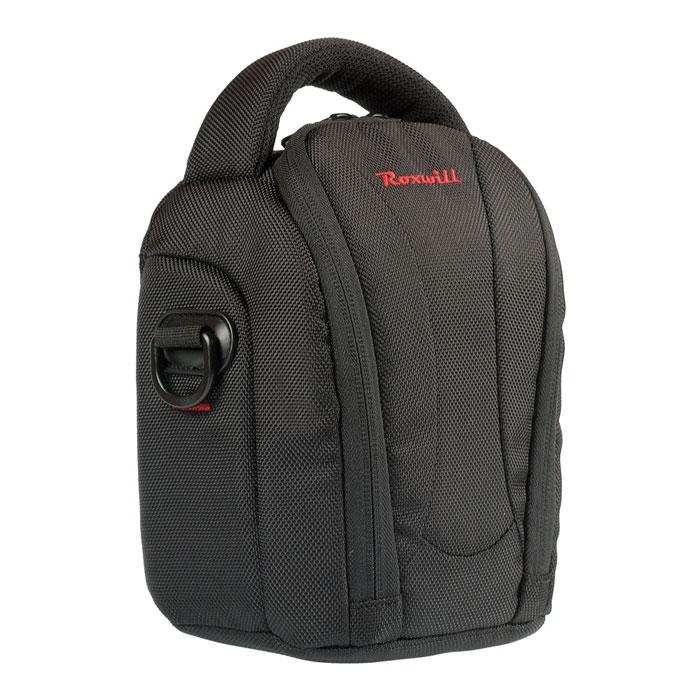 Roxwill NEO-20, Black чехол для фото- и видеокамерNEO-20 blackСтильная сумка Roxwill NEO-20 с цветными вставками для зеркальной фотокамеры с установленным объективом. Надежно защитит вашу камеру от случайных ударов и царапин, а также от пыли и влаги. Верхний откидной клапан закрывается на двойную застежку «молния» и обеспечивает быстрый доступ к фотокамере. Имеется два внутренних кармана для карт памяти. Для переноски предусмотрены регулируемый наплечный ремень и удобная ручка.