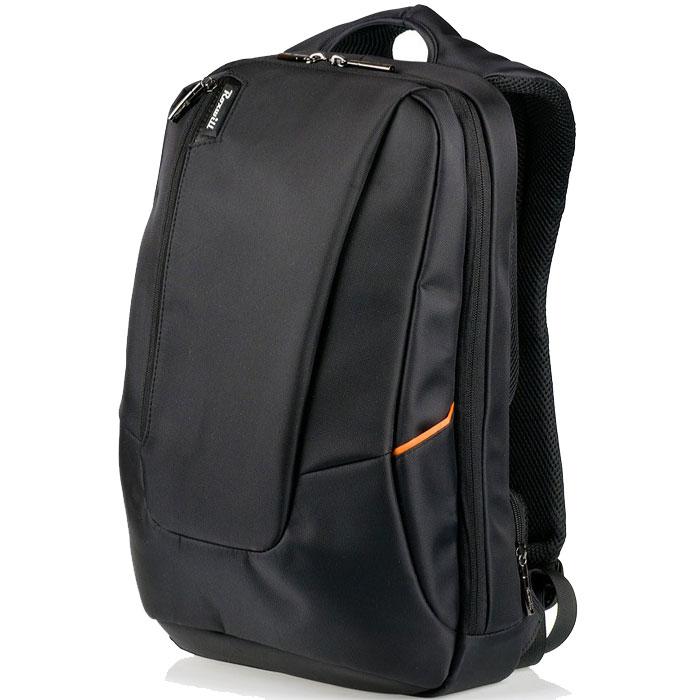 Roxwill Z90, Black рюкзак для ноутбука 15,6Z90 blackРюкзак Roxwill Z90 для ноутбуков диагональю до 15.6. Основной материал - плотный высококачественный нейлон, который надежно защитит содержимое от пыли, влаги и царапин. Карман для ноутбука выполнен из неопрена и плотно прижимает ноутбук к задней стенке рюкзака. Множество внутренних карманов позволяют разместить и зафиксировать во внутреннем пространстве планшет, смартфон, документы и множество других аксессуаров.Имеется отверстие для наушниковДве двойные молнии основного отдела позволяют менять объем рюкзака от городского компактного до походного размераСекретный внешний карман в задней части для паспорта и кошелькаВентилируемые и мягкие спинные подушки системы AIRPASSAGE