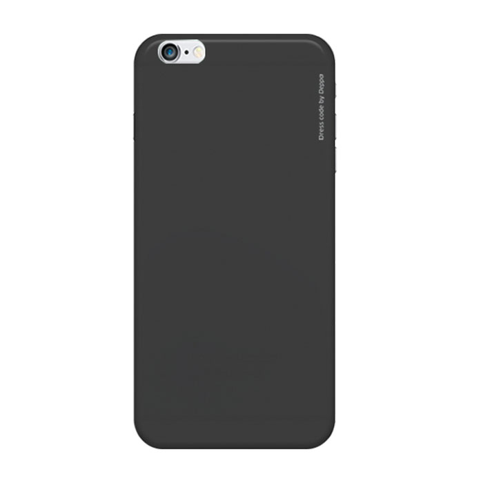 Deppa Air Case чехол для iPhone 6, Black чехол для iphone 6 глянцевый printio с именем яна