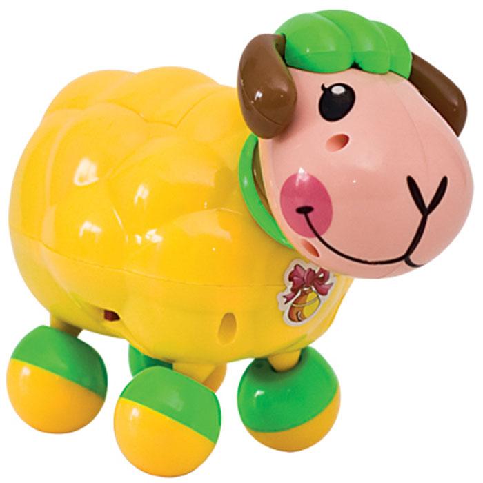 """Электронная развивающая игрушка """"Веселая овечка"""", цвет: желтый, Dream Makers"""