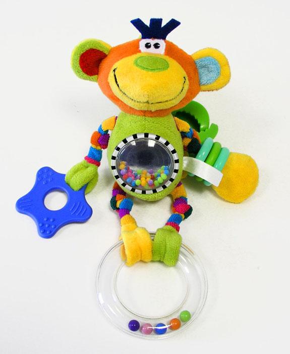 Mommy Love Мягкая игрушка-погремушка Цирк погремушки s s мягкая погремушка тапочки носочки