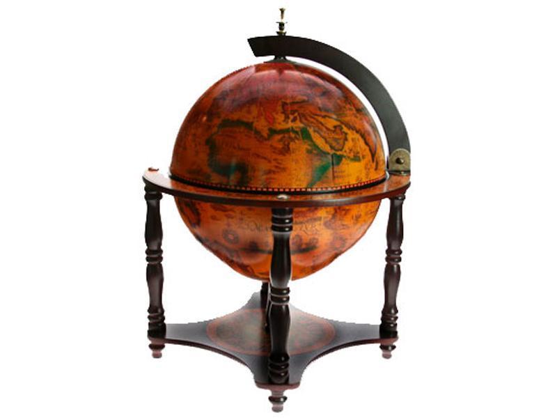 Глобус-бар напольный, диаметр 41 см, Шэньжэнь Юфенг Хэндикрафт