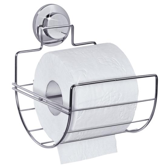 Держатель для туалетной бумаги Tatkraft Wild Power Line021-TKДержатель для туалетной бумаги Tatkraft Wild Power Line выполнен из хромированной стали и крепится с помощью вакуумной присоски. Оригинальная запатентованная система вакуумных присосок Tatkraft доработана с учетом природных особенностей гигантского осьминога Дофлейна. Быстро и надежно устанавливается на любой воздухонепроницаемой поверхности: плитка, стекло, металл и другие. В случае необходимости изделие можно легко перевесить, поддев присоску острым предметом (например, шариковой ручкой). Не устанавливать вакуумную присоску на хрупкие поверхности такие, как тонкое стекло и зеркало. Характеристики:Материал: хромированная сталь, пластик. Размер держателя: 14,3 см х 16,3 см х 17,5 см. Артикул: 021-TK.