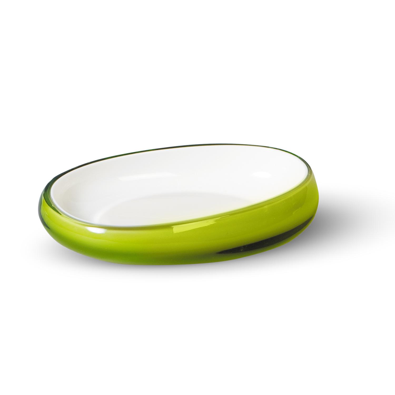 Мыльница Immanuel Repose Green, салатовый. 1229512295Овальная мыльница Immanuel Repose Green, выполненная из акрила салатового цвета, прекрасно подойдет для ванной. Такая мыльница станет стильным аксессуаром, который украсит интерьер вашей ванной комнаты. Характеристики:Материал: акрил. Размер мыльницы:9,5 см х 14 см х 3 см. Артикул: 12295.
