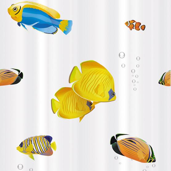 Шторка для ванной Tatkraft Blue Lagoon, 180 см х 180 см14039Шторка для ванной Tatkraft Blue Lagoon, изготовленная из Peva - водонепроницаемого, мягкого на ощупь и прочного материала, декорирована ярким рисунком в виде разноцветных рыбок. Не содержит ПВХ. Шторка быстро сохнет, легко моется и обладает повышенной износостойкостью. В комплекте также имеется 12 овальных колец. Шторка оснащена магнитами-утяжелителями для лучшей фиксации.Шторка для ванной Tatkraft Blue Lagoon порадует вас своим ярким дизайном и добавит уюта в ванную комнату. Характеристики:Материал: 50% полиэтилен, 50% этиленвинилацетат (Peva). Размер шторки: 180 см х 180 см. Количество колец: 12 шт. Размер упаковки: 20,5 см х 29 см х 3,5 см. Производитель: Эстония. Изготовитель: Китай. Артикул: 14039.