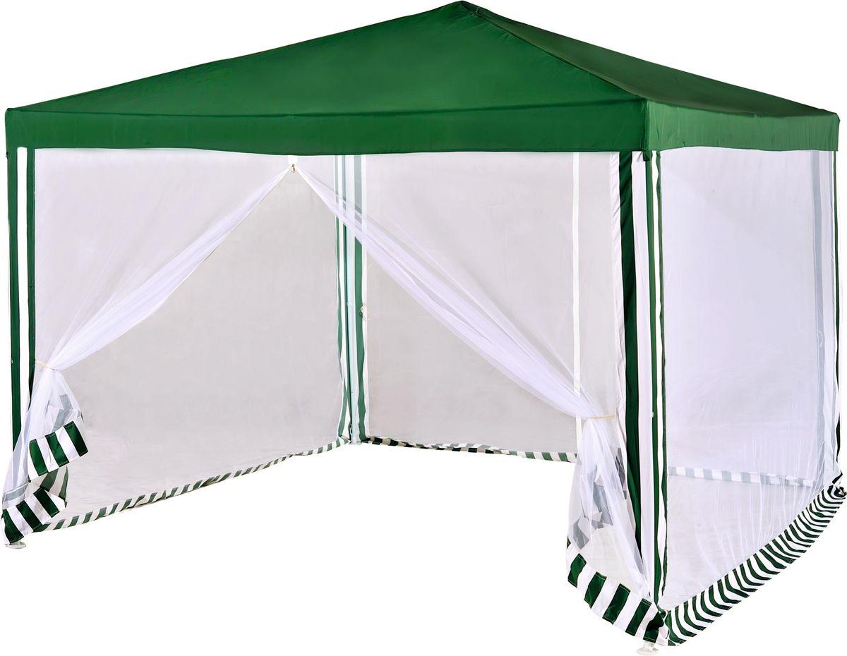 Тент садовый Green Glade  1036 , с москитной сеткой, 300 х 300 х 250 см -  Мебель для отдыха