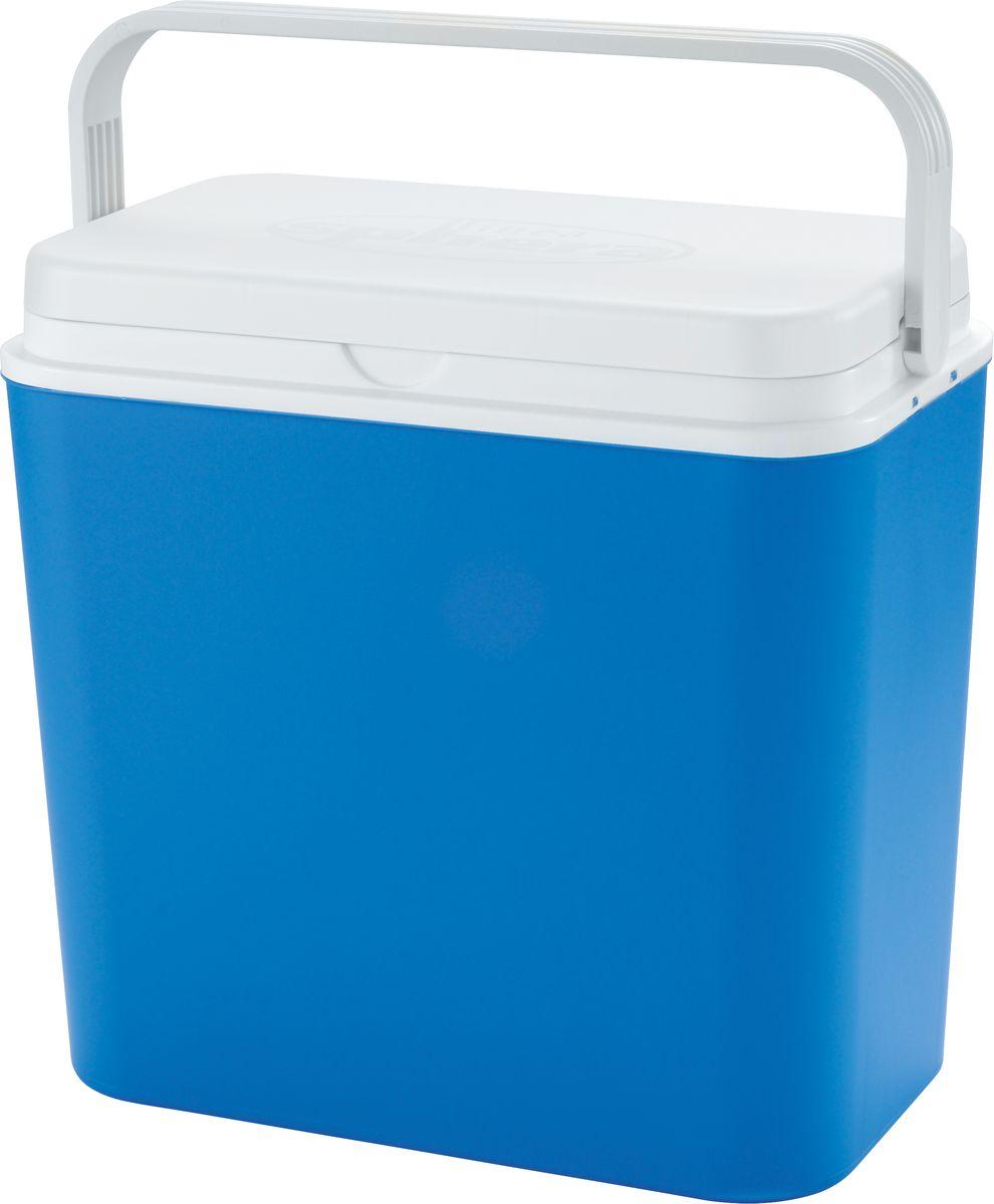 Контейнер изотермический Atlantic Cool Box, цвет: синий, 24 л4037Легкий и прочный изотермический контейнер Atlantic Cool Box предназначен для сохранения определенной температуры продуктов во время длительных поездок. Корпус и крышка контейнера изготовлены из высококачественного пластика. Между двойными стенками находится термоизоляционный слой, который обеспечивает сохранение температуры.Крышку можно использовать в качестве столика или подноса. При использовании аккумулятора холода контейнер обеспечивает сохранение продуктов холодными до 12 часов.Температурный режим эксплуатации: от -30°C до +60°C. Контейнер идеально подходит для отдыха на природе, пикников, туристических походов и путешествий. Объем контейнера: 24 л.Размер контейнера: 39 см х 38 см х22 см.