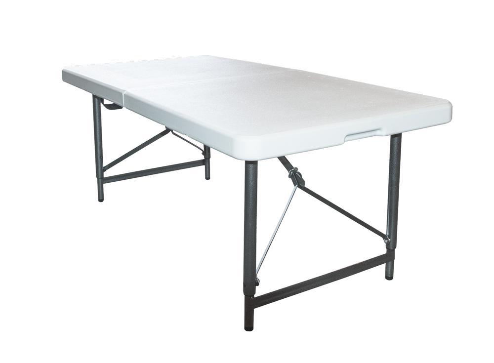 Стол складной Green Glade, 120 х 60 х 70 см F122F122Стол Green Glade прекрасно подойдет для отдыха на природе или на даче. Стол удобно и компактно складывается, легко раскладывается. Каркас выполнен из алюминия, материал столешницы - прочный пластик серого цвета.Размер стола (в разобранном виде): 120 см х 60 см х 70 см.Толщина столешницы: 5 см.