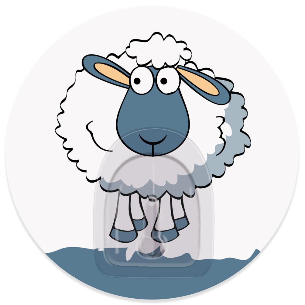Крючок адгезивный Tatkraft Funny sheep. Maddy, диаметр 8 см18662Крючок адгезивный Tatkraft Funny sheep. Maddy изготовлен из пластика. Крючок может быть установлен только на ровной воздухонепроницаемой поверхности: плитка, стекло, пластик, металл, ламинированное дерево и другие. Крючок является многоразовым, что позволяет перевесить его в любое удобное место. Крючок Tatkraft Funny sheep. Maddy имеет авторский дизайн, который украсит любой интерьер. Диаметр крючка: 8.Максимальная нагрузка: 3 кг.