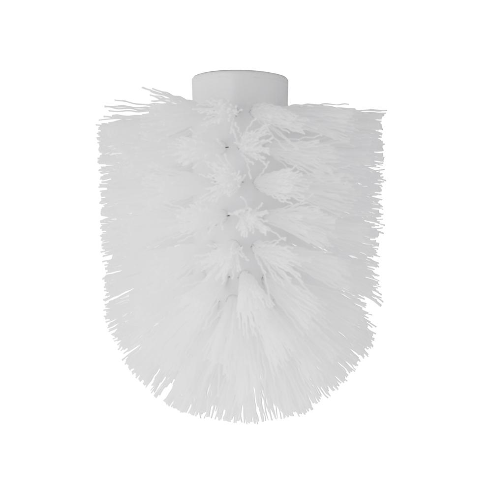 Сменный элемент для ершика Artmoon Kalipso, цвет: белый699034Сменный элемент для ершика Artmoon Kalipso выполнен из высококачественного пластика с жестким ворсом. Практичный и легкий в замене, он продлит срок службы туалетных гарнитуров. Ершик с такой насадкой отлично чистит поверхность, а грязь с него легко смывается водой. Внутренний диаметр насадки: 1,2 см.Диаметр ершика: 8 см.
